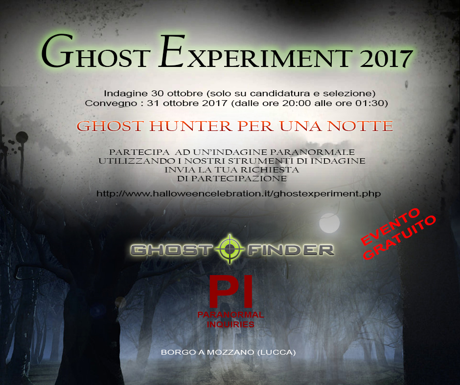 Ghost Experiment -2017