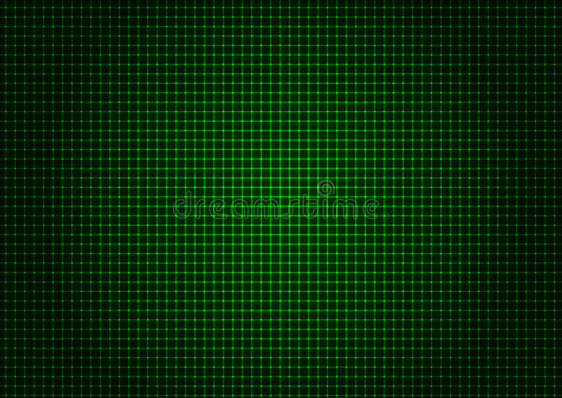 verticale-orizzontale-di-griglia-verde-del-laser